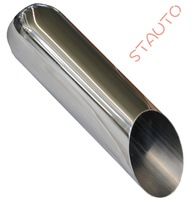 "3""*4""*22""Universal Texas Exhaust Tip With Roundness Inlet"