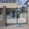 High Quality Elegant pvc coated house steel gate design (prefessional factory manufacturing)