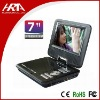 7 inch portable car dvd player