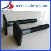 ISO898.1 M24*150 square bolt of railroad track parts