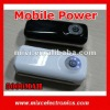 5000mAh External Mobile Power with LED Torch for Apple Device, Smartphones, and more