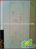 Sculpture on the calcium silicate board or fiber cement board /panel