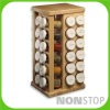environmentally friendly kitchen drawer wooden spice rack