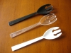 "9 1/2"" Plastic Serving Fork;PS;disposable plastic folk"