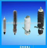 12kV 5kA metal (zinc) oxide surge lightning arrestor without gap (KEMA)