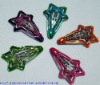epoxy snap clips with glitter,shinny clips