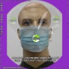 face mask with anti-fog shield (face mask with goggles, face mask with transparent shield)