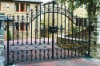 2012 china manufacturer home decorative morden wrought iron gates automatic sliding gates driveway door design