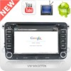 Android 2.3 car dvd player with gps for 3G WIFI and Speech input