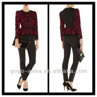 High Quality Fake Designer Top Lace Women Jacket