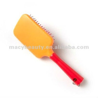 Neon Paddle Hair Brush scalp massage brush