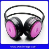 Newly sports mp3 headphones with SD card slot and fm radio