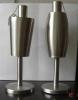 steel oil lamp