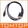 NEW Gold DVI male to HDMI Male Cable for HDTV LCD 3FT/0.9M