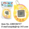 electronic pet toy ,keychain electronic pet, electronic game machine