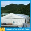 white canvas wall tent