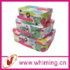 Doll storage suitcase box for child