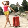 2012 fashion ABS trolley luggage