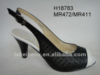 lady casual shoes(PU shoes;jewel on the shoe;white ; )