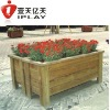 wooden Outdoor flowerpot ,garden flowerpot