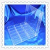Acrylic stationery storage case with cover