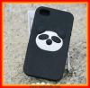 Special design Panda Mobile Phone Silicone Thick Case for iphone(MJD-SI11)