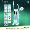 Multifunctional Beauty Equipment (Ultrasonic,Vacuum, Spray, High Frequency Electrotherapy