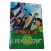 Colorful Hardcover Comic Book