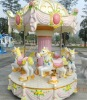 6 seat amusement carousel horses for sale