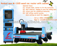 Hot cnc router machine for wood with cabinet controller