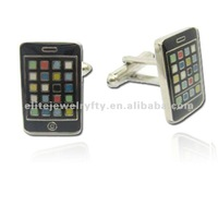 2012 novelty phone cufflink