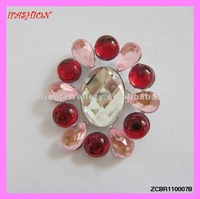Fashion Brooches with Rhinestones top quality