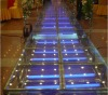 new model wedding stage, aluminium stage,wedding glass stage