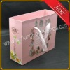 wedding paper gift bag with ribbon handle