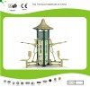 Outdoor fitness equipments-three sides luxurious seated pulling machine for amusement parks and open air used