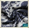 CVC woven burnout Fabric For Lady Garment Design