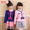Design Winter Dress For Girl Outer Wear Fashionable Kids Dresses