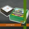 Wooden jewelry box with tiles for sublimation printing