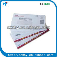 Window business envelope with logo