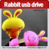 cartoon anime usb flash drive,cute rabbit flash drive 2G4G8G16G32G