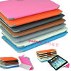 New Bold Trifold Leather Case Cover Rotating Stand for iPad Mini