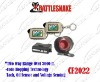 2-way car alarm system CF2022 2 LCD remotes Two-way range over 3000ft Code hopping technology
