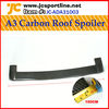 rear spoiler car spoiler roof spoilers wing spoiler for Audi A3