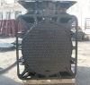 Heavy Duty ductile iron Sanitaray manhole cover and frame
