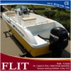 FLIT New model CE Approved Fishing Boat with Outboard Engines