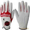 Red Golf GLoves, hand proction, water proof