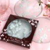 Cherry blossom cup pad for wedding favors,Chinese romantic style tablemat ,originality cup pad 2pcs/set
