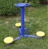 2012 newest three-person outdoor playground waist rotator