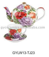 Porcelain teapot sets