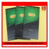 8 pages Restaurant laminated menu printing from China